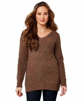 Joe Browns Womens Basic Marled Knitted Jumper Brown 12