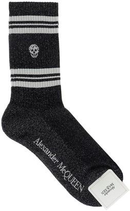 Alexander McQueen Skull Crew Socks