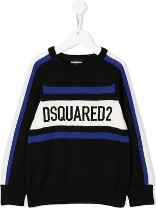DSQUARED2 Knitted Logo Sweater