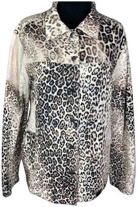 Krizia Multicolour Cotton Jacket for Women