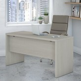 Kathy Ireland Office By Bush Echo Desk Shell Office by Bush Color: Gray Sand