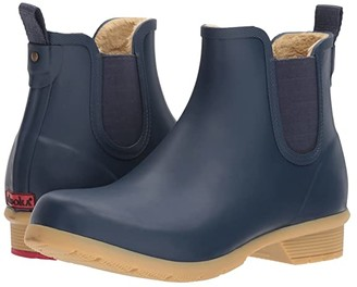 Chooka Bainbridge Chelsea Ankle Boot (Black) Women's Rain Boots
