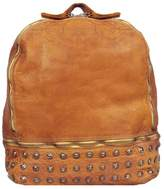 Wilsons Leather Womens Vintage Leather Backpack W/ Front Studding