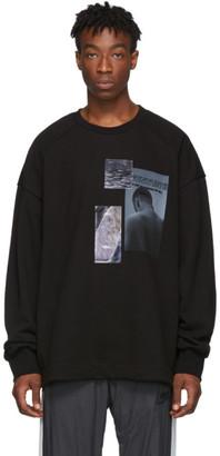 Juun.J Black Print Sweatshirt