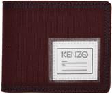 Kenzo Burgundy Id Wallet