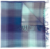 Paul Smith check print scarf - men - Cotton - One Size