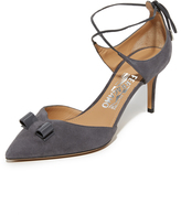 Salvatore Ferragamo Carolyn Lace Up Pumps