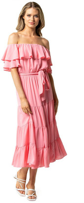 Forever New Ally Ruffle Maxi Dress