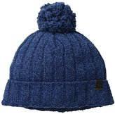 Original Penguin Men's Textured Knit Watchcap with Pom
