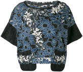 Antonio Marras embroidered floral top