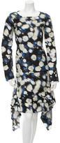 Peter Som Printed Knee-Length Dress