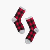 Madewell Buffalo Check Trouser Socks