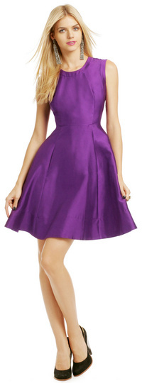 Kate Spade Grape Soda Pop Dress