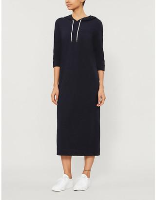 Max Mara Mulino hooded stretch-cotton midi dress