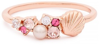 Olivia Burton Under The Sea Rose-gold Plated Sterling Silver Ring