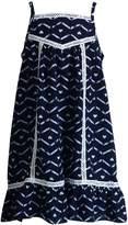 Youngland Girls 4-6x Crochet Lace Trim Sundress