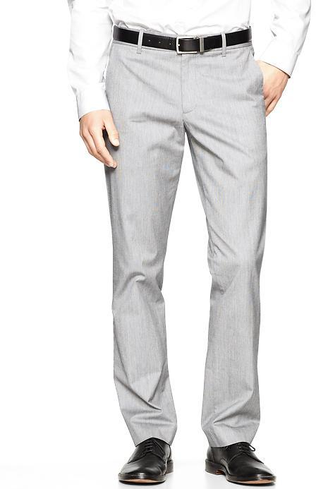 Gap The textured tailored pant (straight fit)