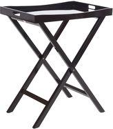 Zanui Contemporary Connie Tray Table, Black