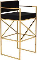 Safavieh Walsh Barstool, Black/Gold