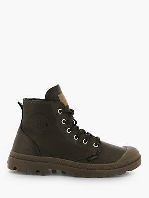 Palladium Pampa Hi Originale Leather Boots, Carafe