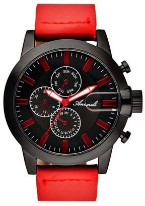 Antoneli Unisex Adult Analogue Quartz Watch with Leather Strap AG1901-02