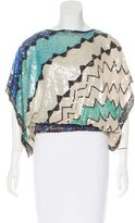 Candela Embellished Dolman Sleeve Top
