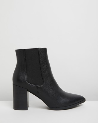 Billini - Women's Black Chelsea Boots - Arcadia Ankle Boots - Size 05 at The Iconic
