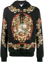 Dolce & Gabbana Blazon printed hoodie