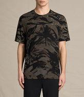 AllSaints Palm Camo Crew T-Shirt