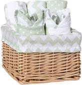 Trend Lab Sea Foam Feeding Basket Gift Set