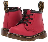 Dr. Martens Kid's Collection 1460 Delaney Boot (Toddler) (Satchel Red Romario) Kids Shoes