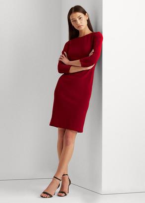 Ralph Lauren Shoulder-Button Dress