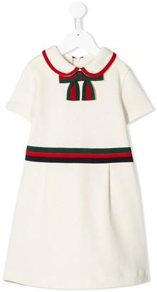 Gucci Kids Bow Detail Party Dress