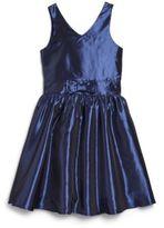 Un Deux Trois Girl's Cobalt Dress