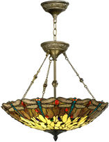 dale tiffany dale tiffanytm corrall dragonfly hanging fixture