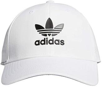 adidas Originals Beacon II Precurve Snapback (White/Black 2) Caps