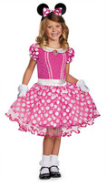 Disguise Pink Minnie Mouse Tutu Prestige Costume (Toddler, Little Girls, & Big Girls)