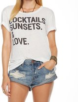 Chaser Women's Cocktails Tee - White