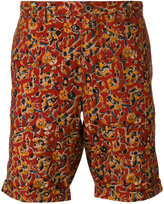 Incotex floral bermuda shorts - men - Cotton - 32