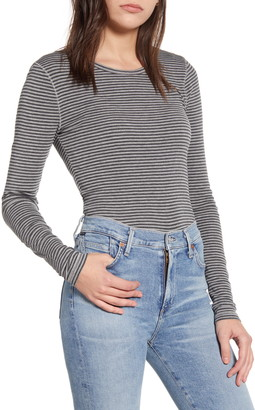 Splendid Classic Stripe Long Sleeve Tee