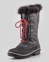 Sorel Tofino Waterproof Leather Boot, Tar/Dark Moss