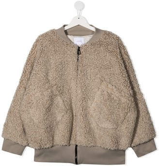 Unlabel TEEN patch-pocket bomber jacket