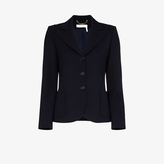 Chloé Single-Breasted Blazer