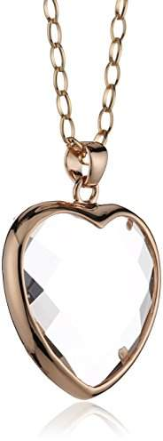 Bronzallure Women's Necklace Onyx WSBZ00048C CM White
