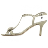 Christian Dior Green Leather Sandals