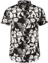 Billabong All Day Floral Tailored Fit Shirt Asphalt