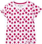True Religion Polka Dot Tee (Toddler & Little Girls)