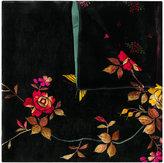 Pierre Louis Mascia Pierre-Louis Mascia floral velvet scarf