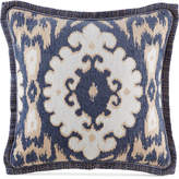 "Croscill Kayden 18"" Square Medallion Jacquard Decorative Pillow"
