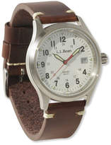 L.L. Bean Vintage Field Watch, 38 mm Leather